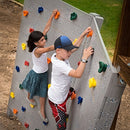 "Image of Squirrel Products Kids Large Rock Climbing Holds (10 Pack) With Mounting Hardware For Up To 1"" Insta"