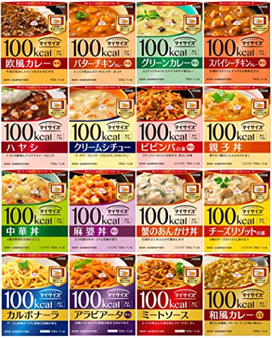 [diet] Otsuka Food 100kcal My Size 16 Trial Set