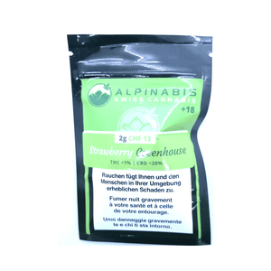 Strawberry CBD by Alpinabis - Hightitude CBD huile oil fleurs growshop