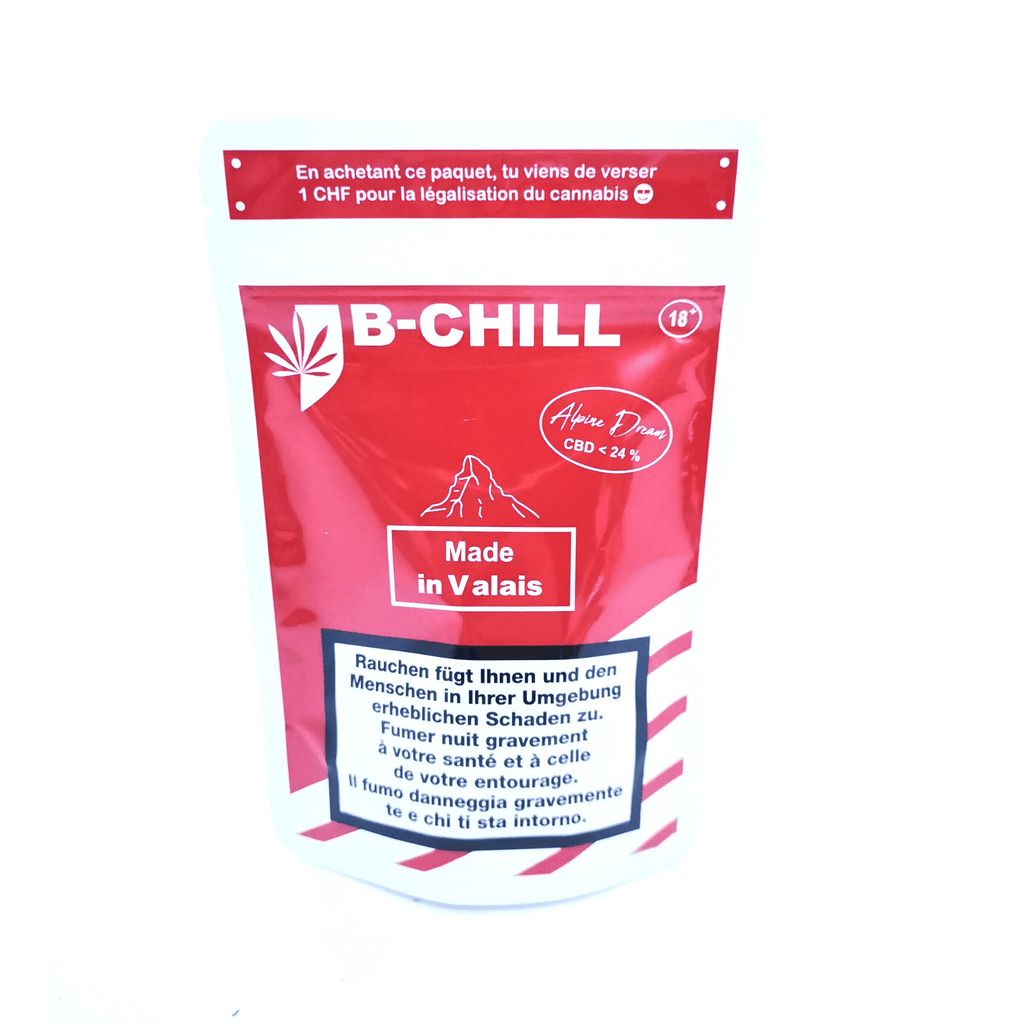 Alpine Dream CBD by B-Chill - Hightitude CBD huile oil fleurs growshop