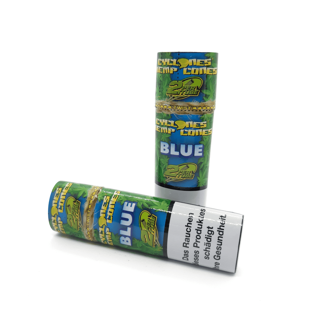 Cyclones Hemp Cones - Blue - Hightitude CBD huile oil fleurs growshop