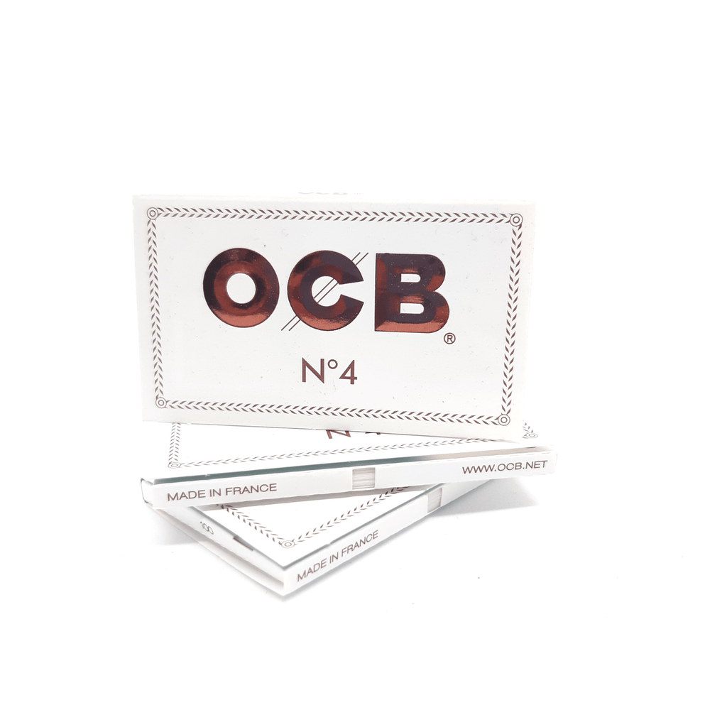 OCB White Double N°4 - Hightitude CBD huile oil fleurs growshop