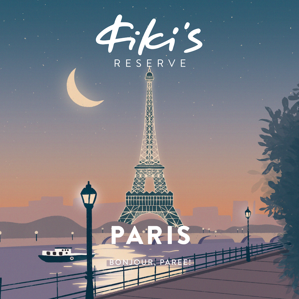 Kiki Air's Paris Cocktail