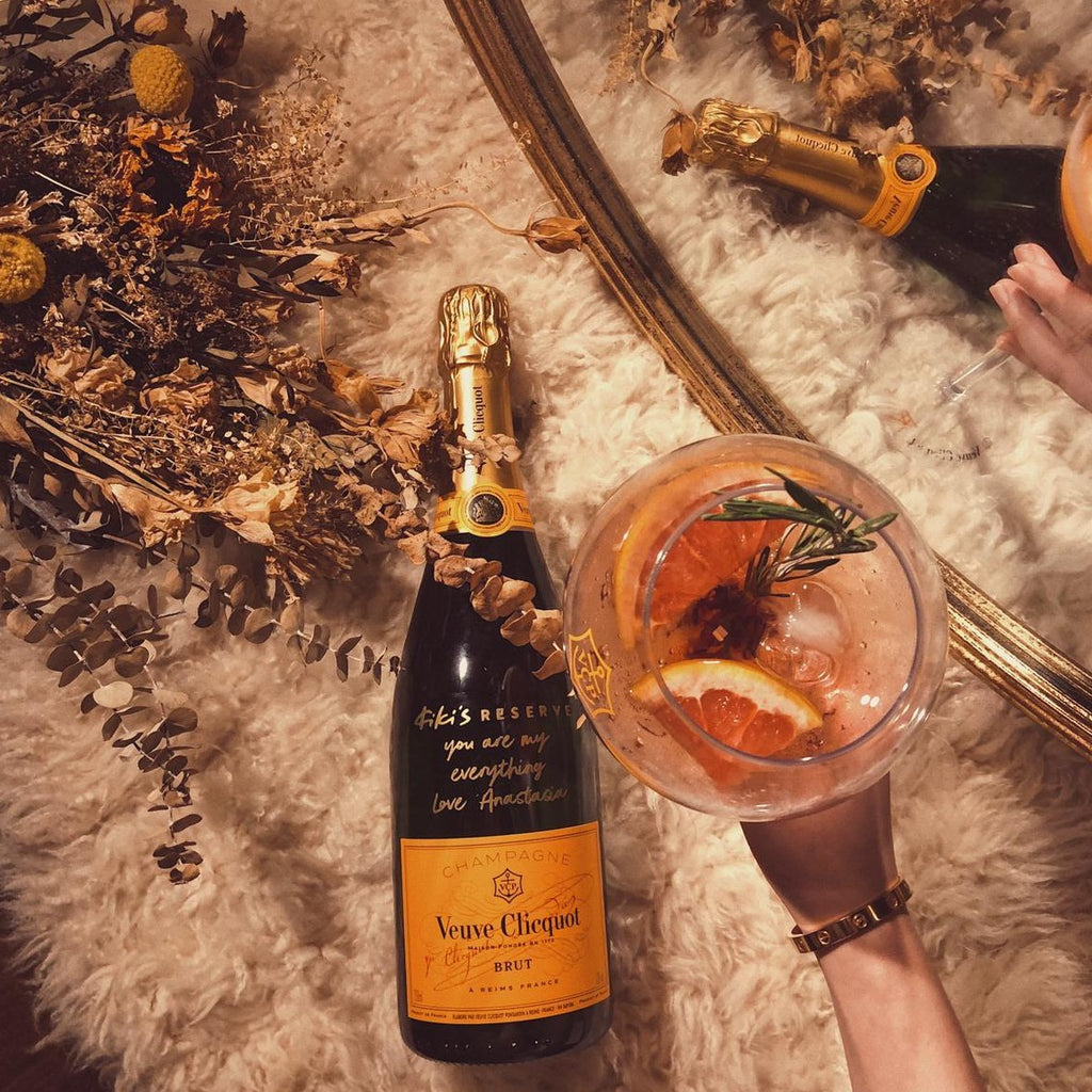 Kiki x Veuve Clicquot Cocktail Champagne Set