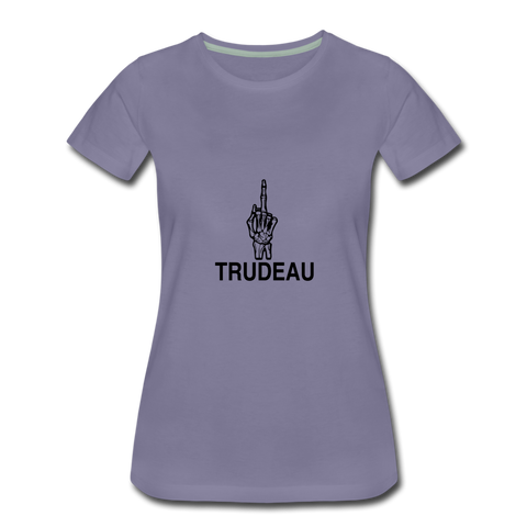 Image of Women's Premium T-Shirt - washed violet