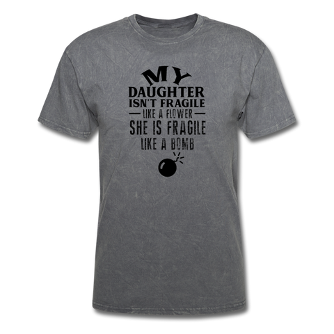 Image of Men's T-Shirt - mineral charcoal gray