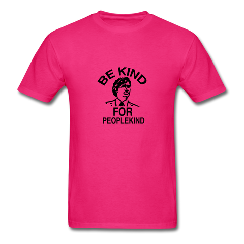 Image of Men's T-Shirt - fuchsia