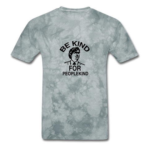 Image of Men's T-Shirt - grey tie dye