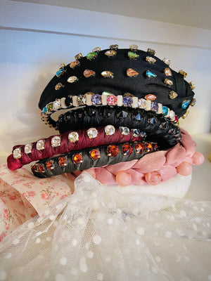 Candy Crush Rhinestone Headband