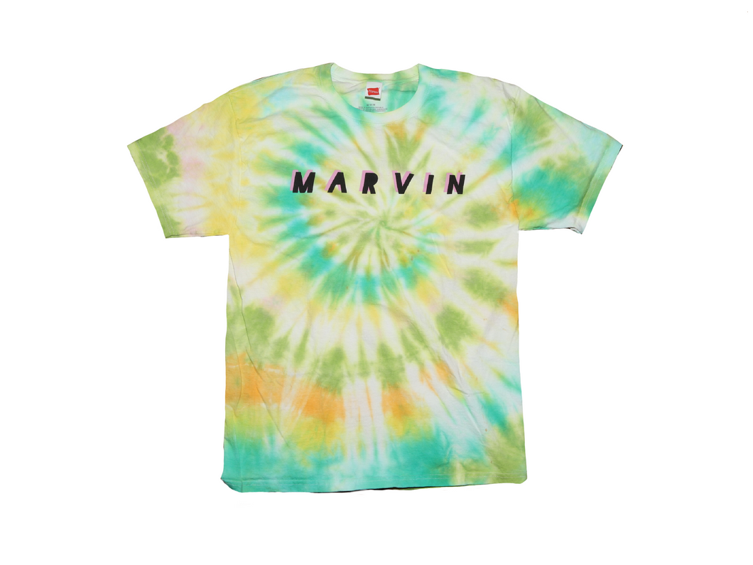Marvin Tie Dye Party T-Shirt