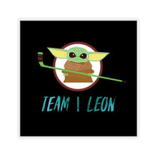 "Load image into Gallery viewer, The Baby ""Team Leon"" Hockey Sticker"