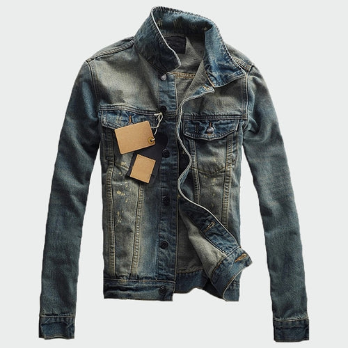 Men's Classic Vintage Denim Jacket