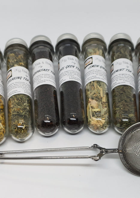Loose Tea Blends & Strainers