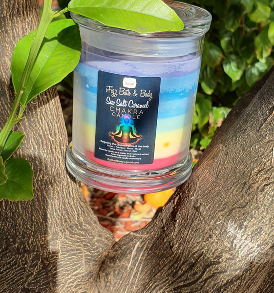 Chakra Soy Wax Candles- 40 hour burn time