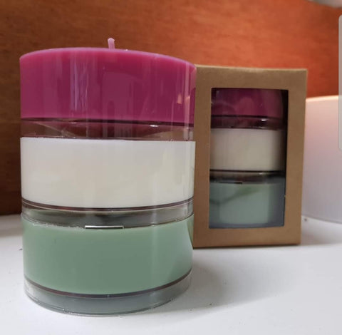 Christmas Candles Trio Pack