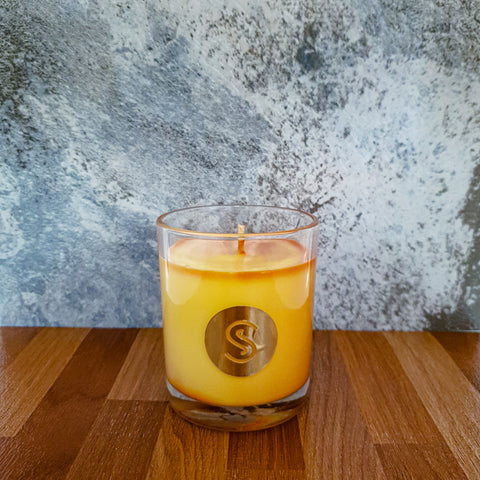 Sweet Honeycomb & Australian Sandalwood Scented Candle
