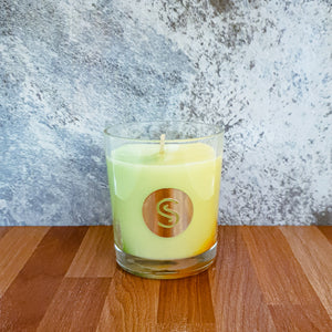 Lemongrass & Persian Lime Scented Candle