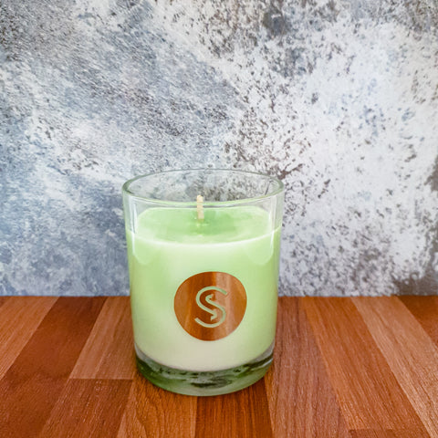 Coconut Lime Scented Candle
