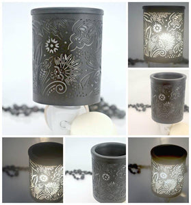 Plug-in Oil Burner- Floral