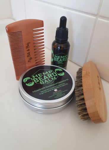 Hemp Beard Care Gift Pack
