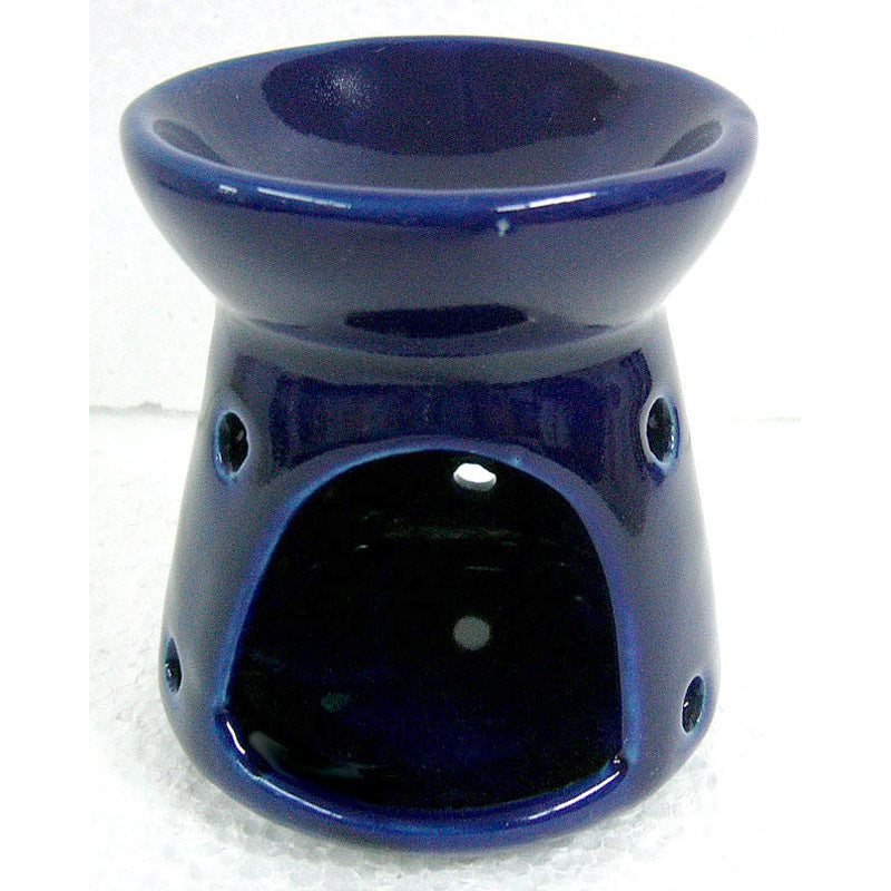 Small 9cm Blue Oil Burner
