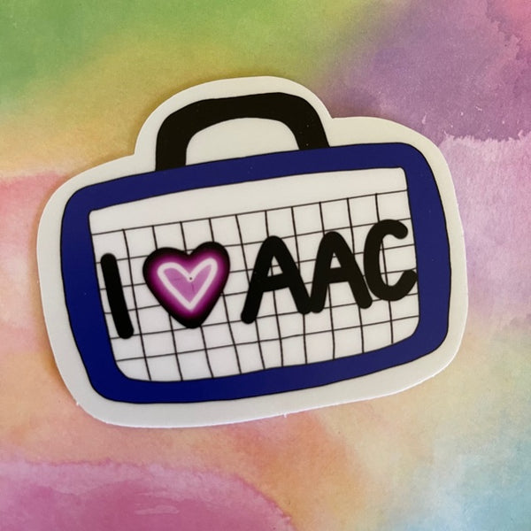 """Grow with AAC"" Stickers - Set of 2"