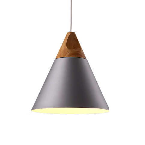 Andre Timber Pendant Light
