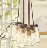 Belle Maison Pendant Jar Light