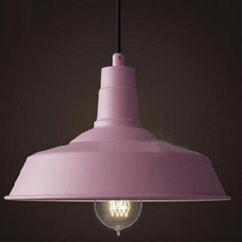 Esther Aluminium Pendant Light - Blushing Pink