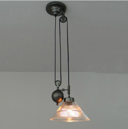 Bolin Pulley Industrial Pendant Light