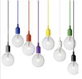 Candy Coloured Silicone Pendant Light