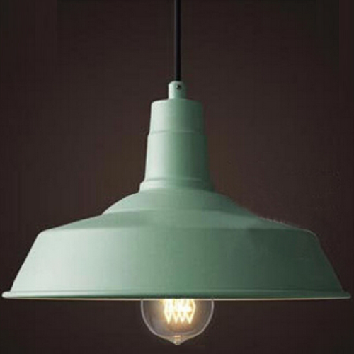 Esther Aluminium Pendant Light - Gelato Green