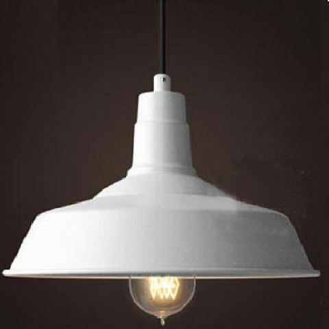 Esther Aluminium Pendant Light - Crisp White