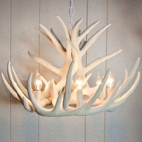 Chandeliers lamps in victoria castelle and leon castelle leon emmaline white antler chandelier buy aloadofball Choice Image
