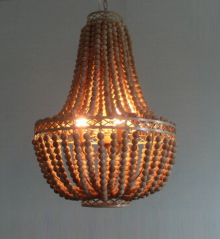 Morella Beaded Chandelier