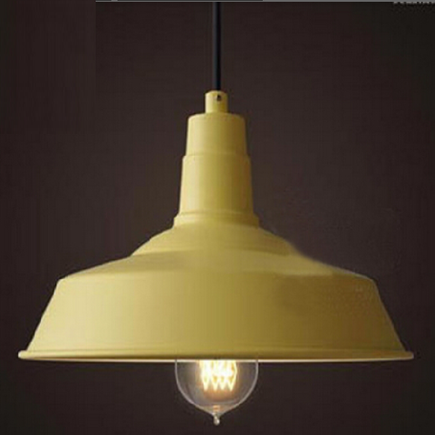 Esther Aluminium Pendant Light - Sunshine Yellow