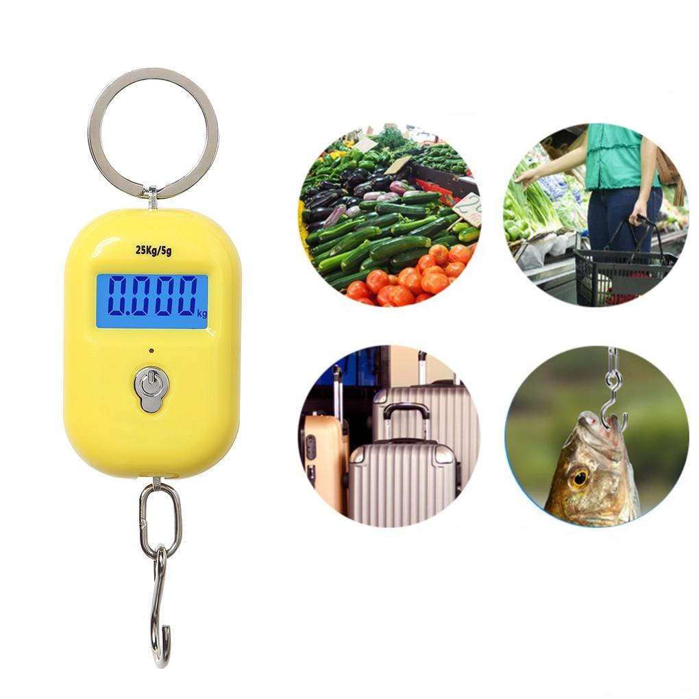 New Mini 25Kg x 5g Digital Hanging Scale
