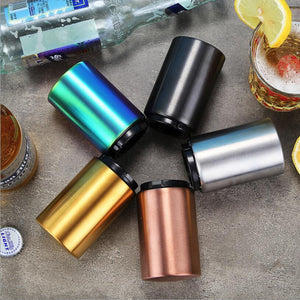 Magnetic Automatic Beer Opener Stainless Steel Bottle Opener