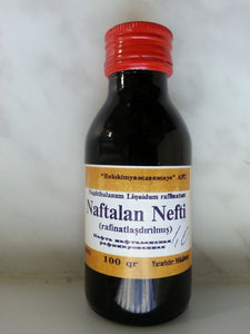 Pure Naftalan Oil for Skin Problems