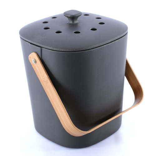 indoor natural food composter bin for kitchen