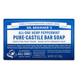 pure organic castile solid soap bar - peppermint | Dr. Bronner's