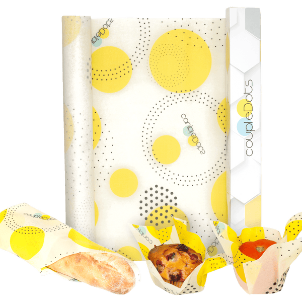 da Bee | Beeswax Reusable Food Wrap Roll - EcoFreax | Think Bigger.