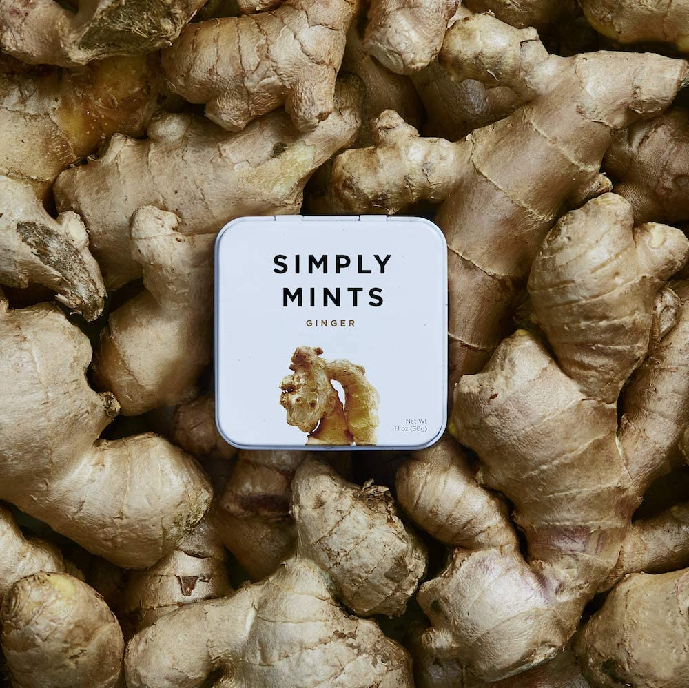 simply mints - ginger vegan and kosher candy mints