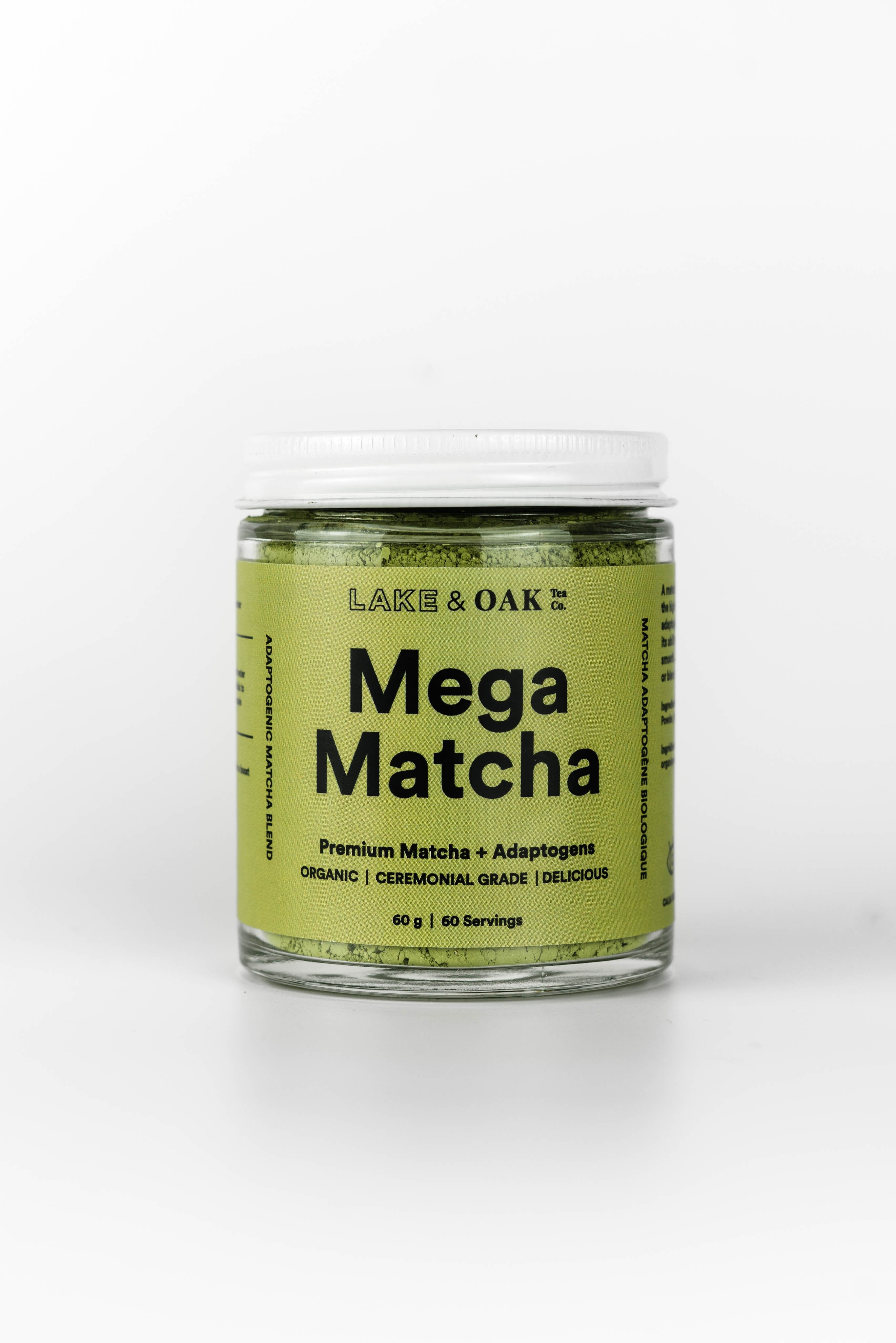 mega matcha - natural organic adaptogenic tea