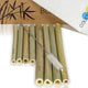 coupleDots Biodegradable Bamboo Drinking Straws