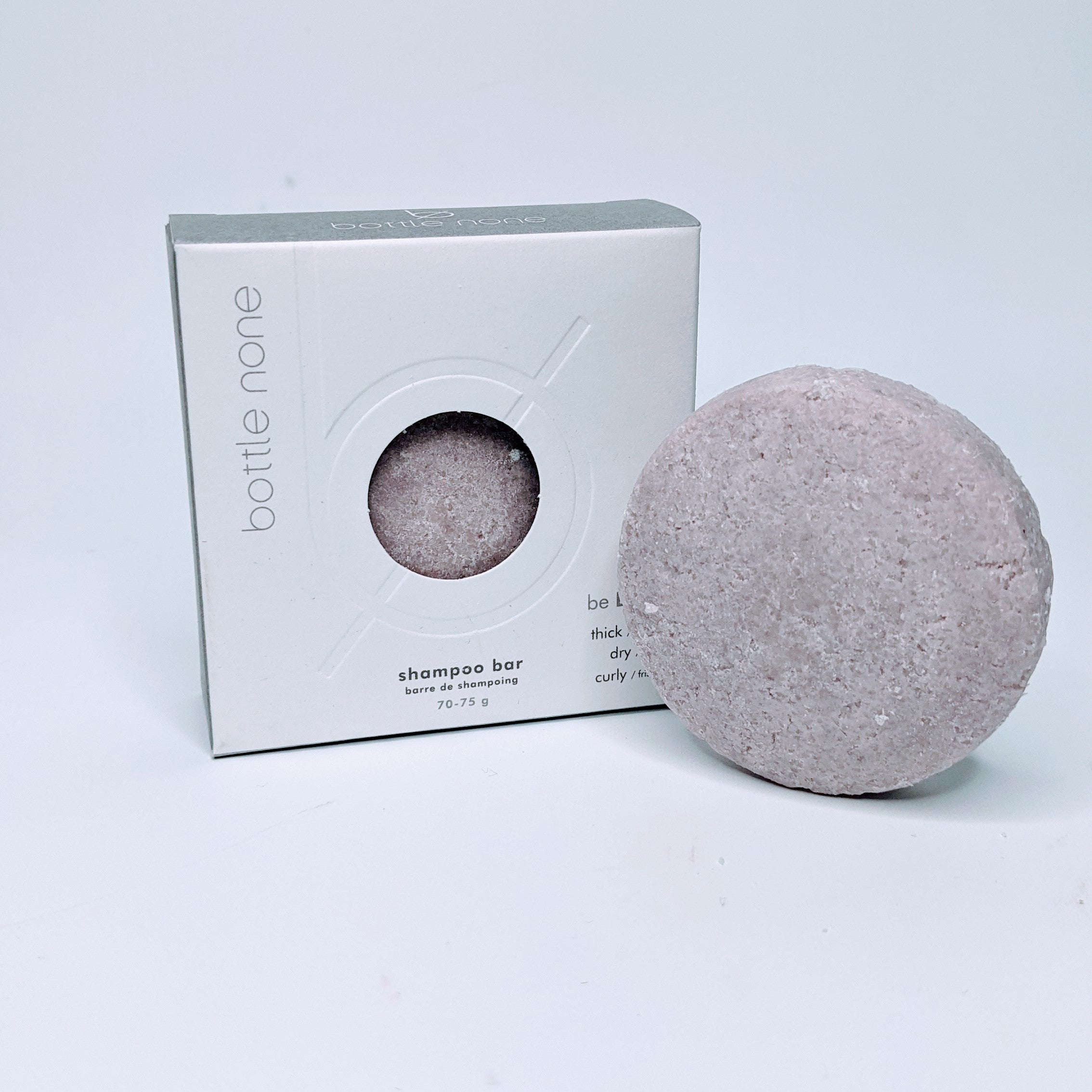 be BOLD - thick/curly/coarse hair vegan shampoo bar