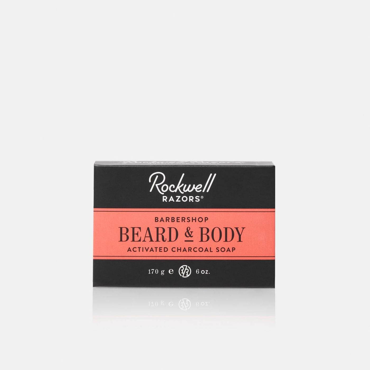 Rockwell Razors | beard + body activated charcoal soap bar - EcoFreax | Think Bigger.