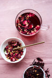 rose schisandra glow - natural organic tea