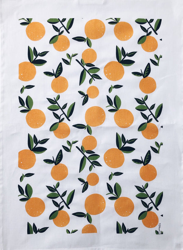 TEN and CO. | tea towel kitchen cloth | ancient fruit