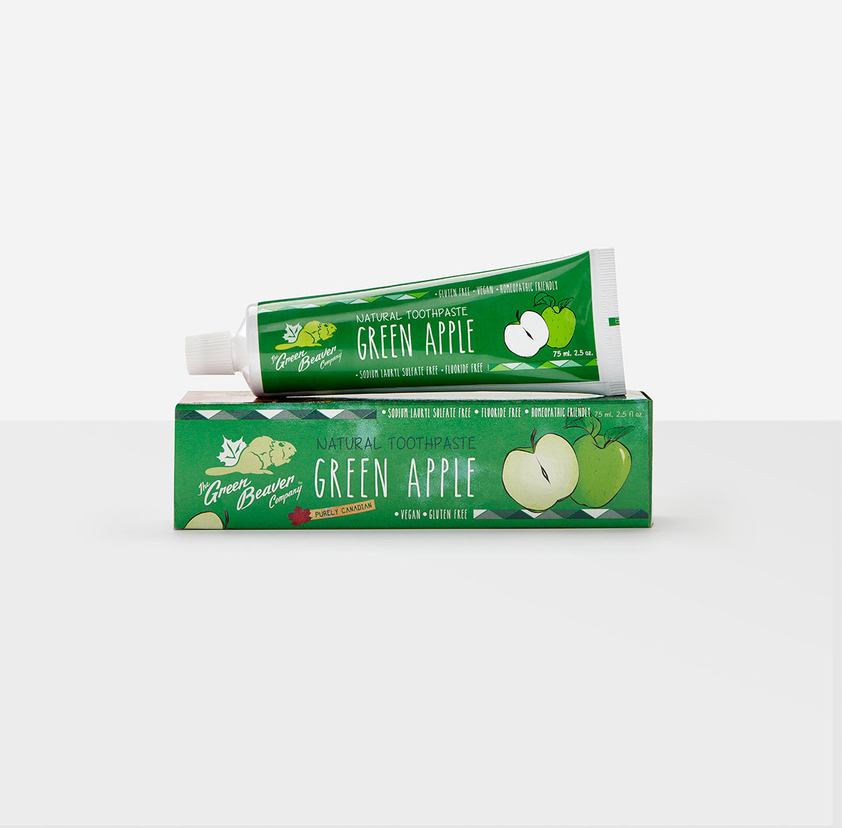 green apple natural toothpaste | Green Beaver